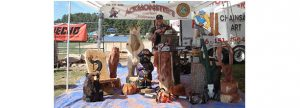 Ackmonster's Chainsaw Art @ Chesterfield County Fair Grounds